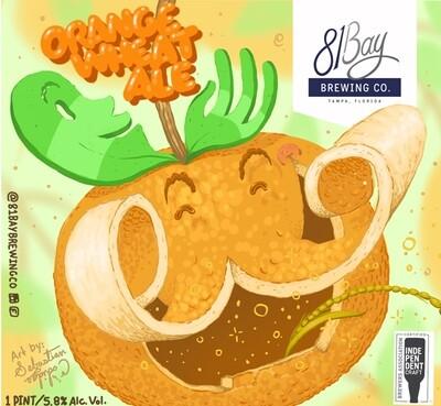 81 Bay Coriander Orange Wheat Ale (1/6 BBL KEG)