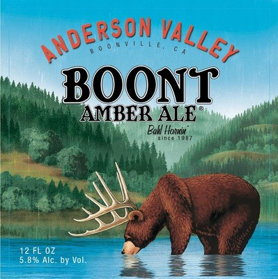 Anderson Valley Boont Amber Ale  (1/6 BBL KEG)