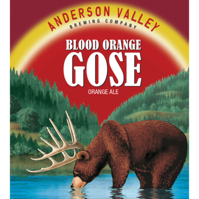Anderson Valley Blood Orange Gose  (1/6 BBL KEG)