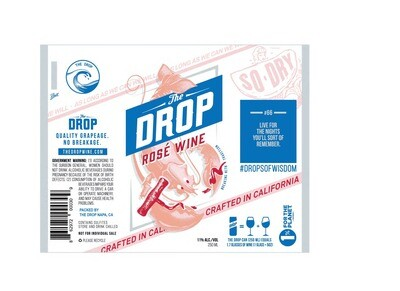 The Drop Cali Rose Wine (4-PACK)