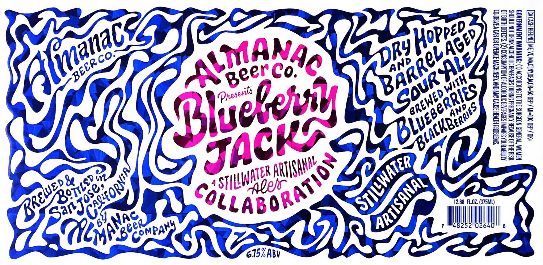 Almanac Beer Co. Blueberry Jack American Wild Ale (Single)