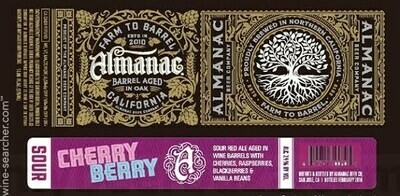 Almanac Beer Co. Cherry Berry Sour Flanders Red Ale (Single)
