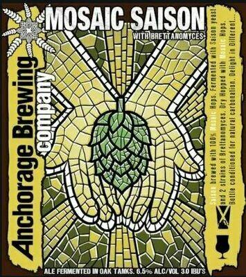 Anchorage Brewing Mosaic Saison Farmhouse Ale Saison (1/6 BBL KEG)
