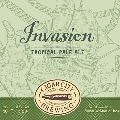 Cigar City Brewing Invasion Tropical Pale Ale (6-PACK)
