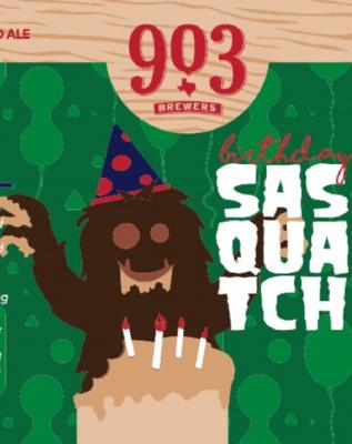 903 Brewers Birthday Sasquatch (1/6 BBL KEG)