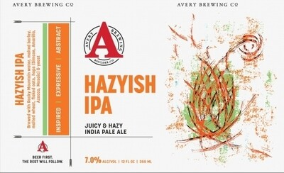 Avery Hazyish IPA (6 PACK)
