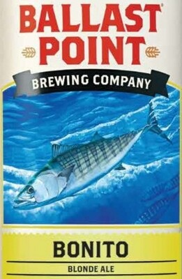 Ballast Point Bonito Blonde Ale (6 PACK)