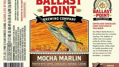 Ballast Point Mocha Marlin (6 PACK)