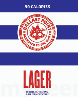 Ballast Point Lager (6 PACK)