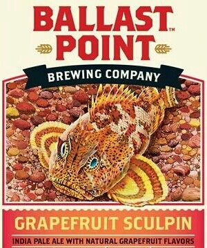 Ballast Point Grapefruit Sculpin IPA (6 PACK)