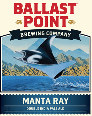 Ballast Point Manta Ray (6 PACK)