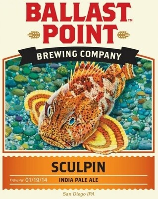 Ballast Point Sculpin IPA (6 PACK)