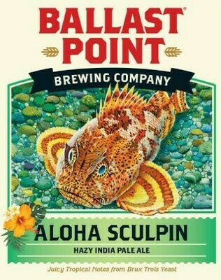 Ballast Point Aloha Sculpin (6 PACK)