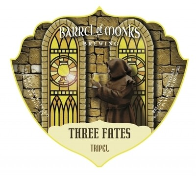 Barrel of Monks Three Fates Tripel (4 PACK)