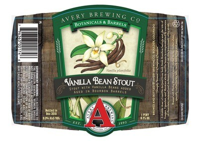 Avery Vanilla Bean Stout (12 PACK)