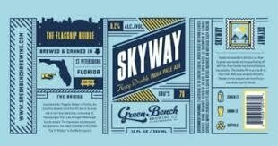 Green Bench Brewing Skyway Double IPA (4 PACK)