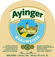 Ayinger Brauweisse (4 PACK)