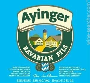 Ayinger Bavarian Pils (4 PACK)