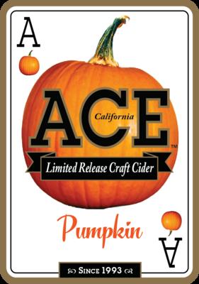 California Cider Ace Pumpkin (1/6 KEG)