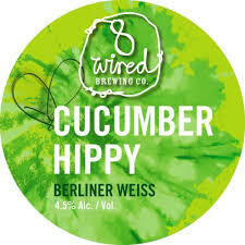 8 Wired Hippy Berliner Cucumber (1/6 BBL Keg)