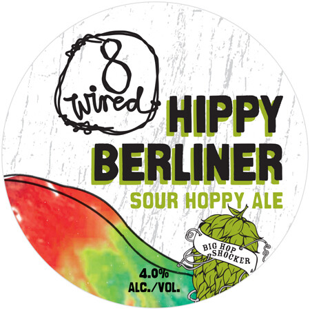 8 Wired Hippy Berliner (1/6 BBL Keg)