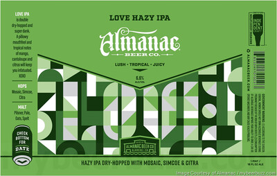 Almanac Beer Co. Love (1/2 BBL KEG)