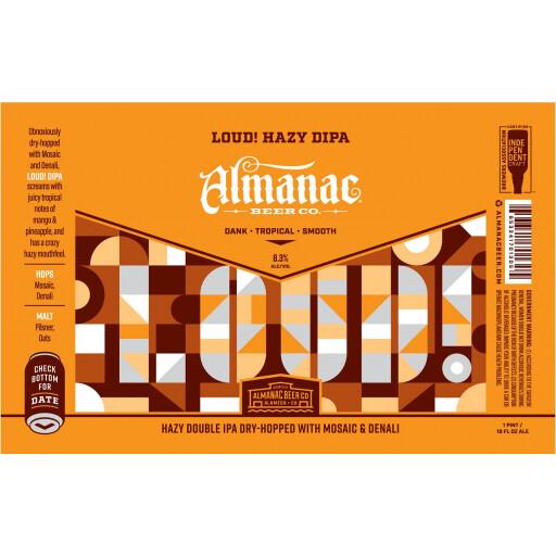 Almanac Beer Co. Loud! (1/2 BBL KEG)