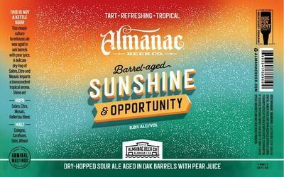 Almanac Beer Co. Sunshine & Opportunity (1/6 BBL KEG)