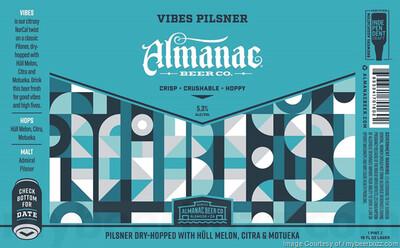 Almanac Beer Co. Vibes (1/6 BBL KEG)