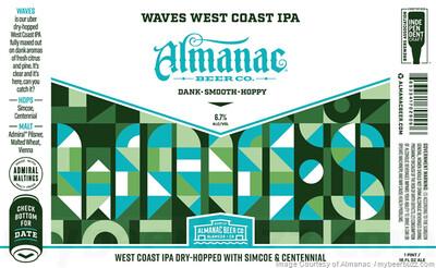 Almanac Beer Co. Waves  (1/2 BBL KEG)