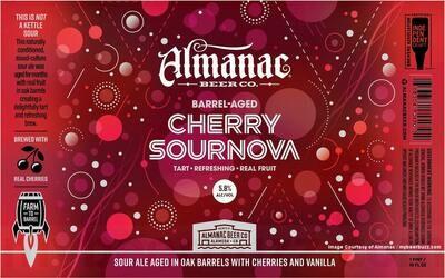Almanac Beer Co. Cherry Sournova (1/6 BBL KEG)