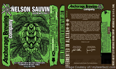 Anchorage Brewing Nelson Sauvin (1/6 BBL KEG)