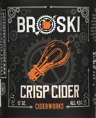 Broski Ciderworks Crisp Cider - Traditional (1/2 BBL KEG)