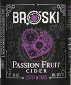 Broski Ciderworks Passion Fruit (1/2 BBL KEG)