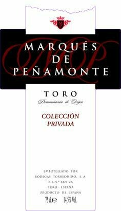 TORO Marques de Penamonte 2014 Private Collection (Single)