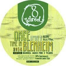 8 Wired Once Upon A Time In Blenheim (SINGLE)