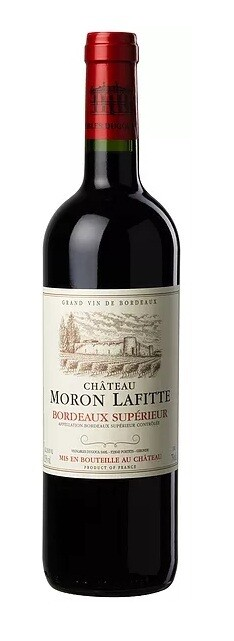 Chateau Moron LaFitte-Merlot - Appellation: Bourdeaux 2016 (Single)