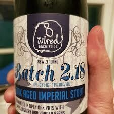 8 Wired Batch 2.18 (Foudre Fermented) - Stout/Imperial/Double (SINGLE)