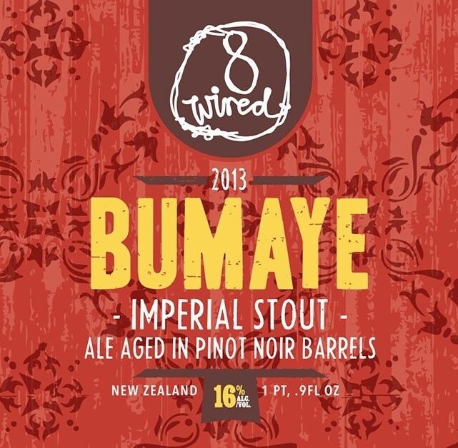 8 Wired BA Bumaye - Stout/American Imperial/Double (SINGLE)