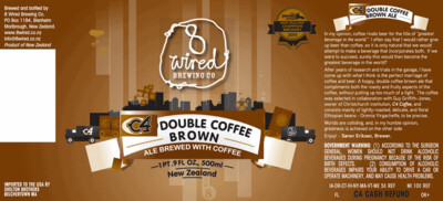 8 Wired C4 - Brown Ale/Imperial/Double (SINGLE)