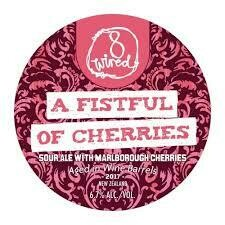 8 Wired Fist Full of Cherries - Sour/Fruited (SINGLE)