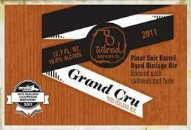8 Wired Grand Cru - Belgian Quadrupel (SINGLE)