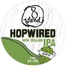 8 Wired Hopwired IPA - IPA/International (SINGLE)
