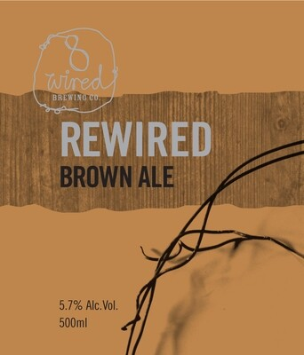 8 Wired ReWired Brown Ale - Brown Ale/American (SINGLE)
