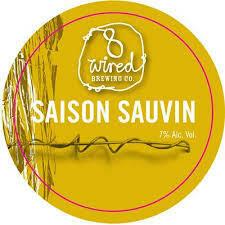 8 Wired Saison Sauvin - Farmhouse Ale/Saison (SINGLE)