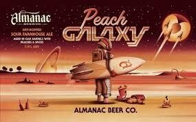 Almanac Beer Co. Peach Galaxy - Sour/Other (SINGLE)
