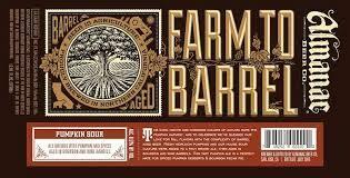 Almanac Beer Co. VINTAGE Pumpkin Sour - Pumpkin/Yam Beer (1/6 BBL KEG)