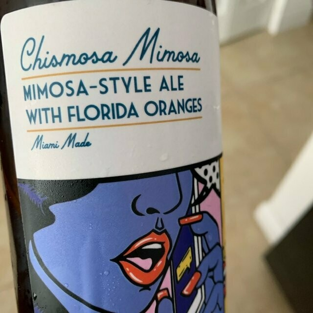 Beat Culture Brewery Chismosa Mimosa - Fruit Beer (1/6 BBL KEG)