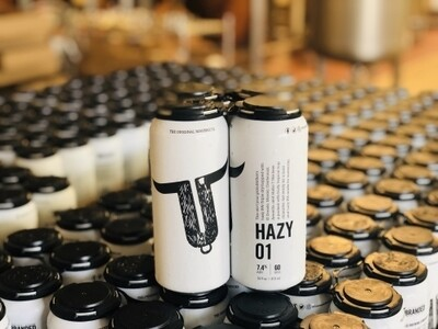 Unbranded Brewing Hazy 01 - IPA/New England (1/6 BBL KEG)