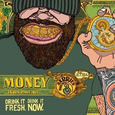 Barrier Brewing Money American IPA (4-PACK)